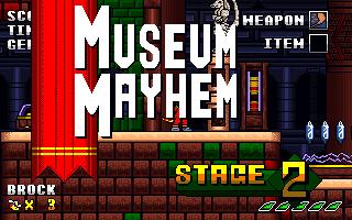 Museum Mayhem Screenshot